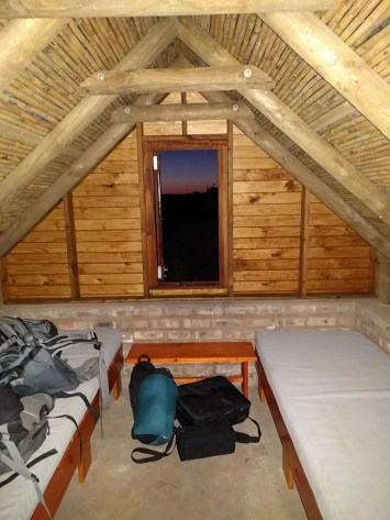 My accommodation at Oukraal.