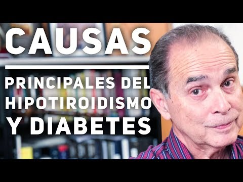 Episodio #1712 Causas principales de hipotiroidismo y diabetes