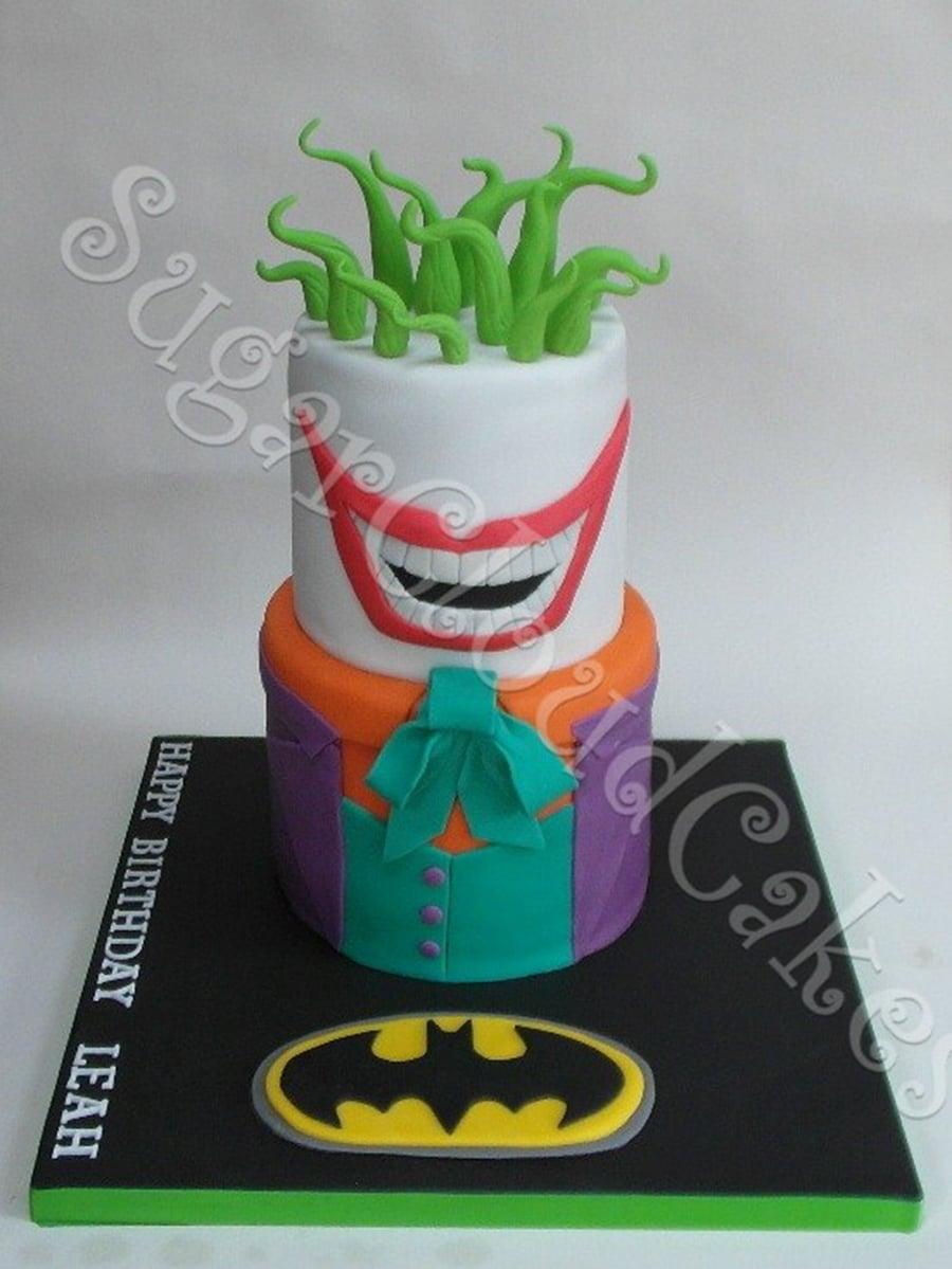 Batman and the Joker Birthday Cake