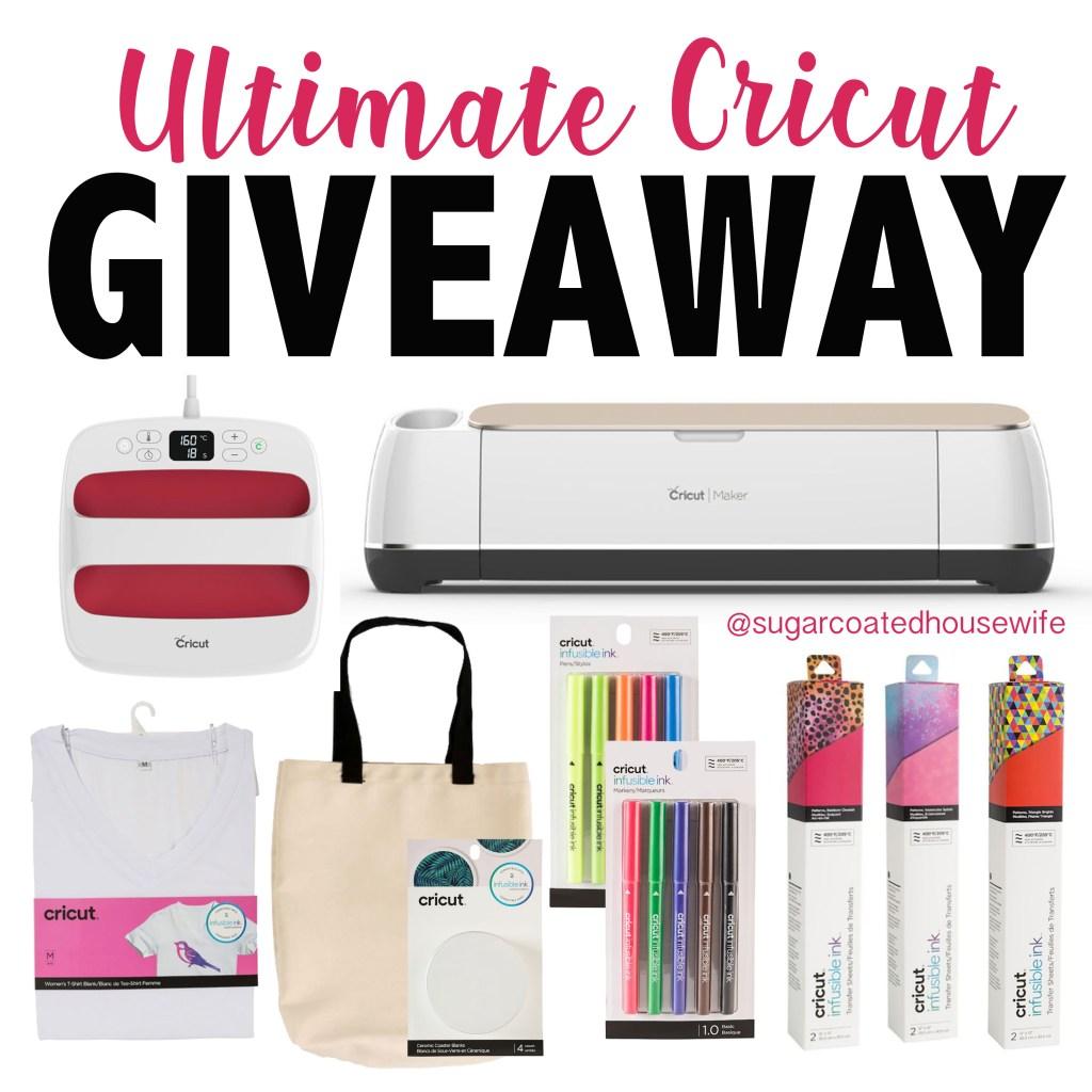 Ultimate Cricut Giveaway!!