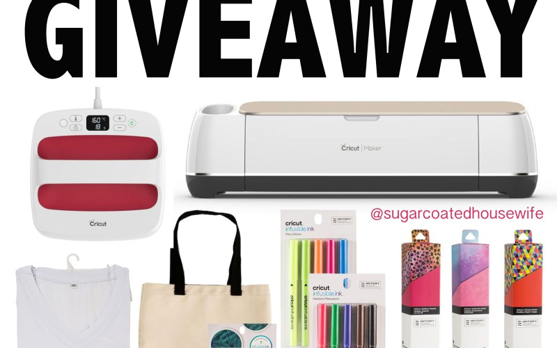Ultimate Cricut Giveaway!!