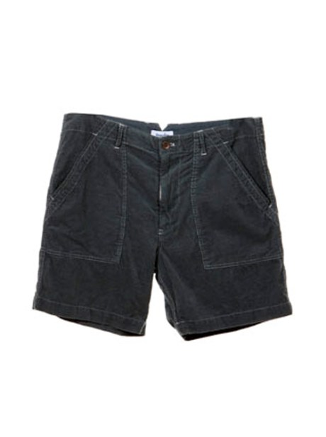 Deck Short These super soft deck shorts are garment dyed baby corduroy and feature side slash carpenter style pockets and a button front closure. 100% cotton made in the USA $148.00