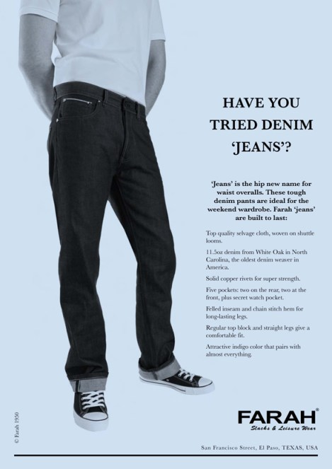 Jeans Ad