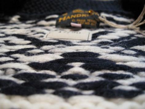1957 Handknit Zip Cardigan
