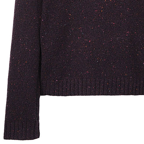 Rag & Bone Vail Wrap Neck Burgundy Confetti