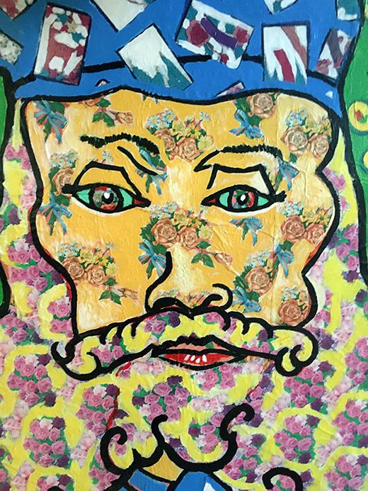 Jack Gibons_Van Gogh's Portrait of Joseph Roulin, Untitled, 1992 02