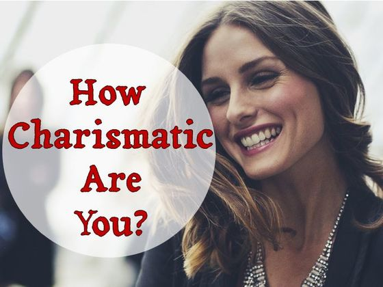 Being charismatic