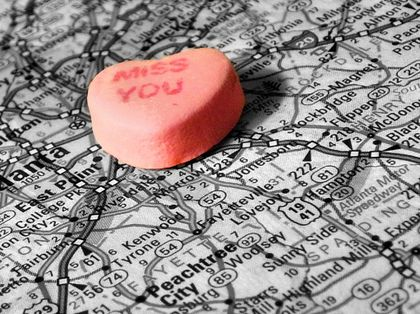 who should travel in a long distance relationship