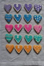 small sherbet hearts