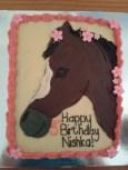 Sweet Nishka's 5th birthday cake