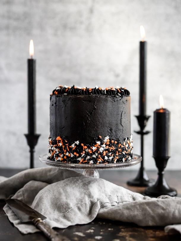 Halloween Funfetti Cake
