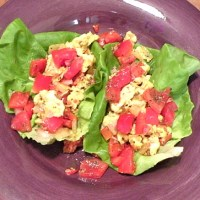 Breakfast Lettuce Wraps