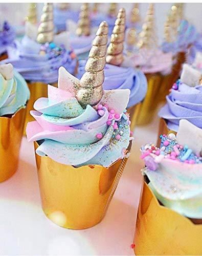 Mini Unicorn Mold Unicorn Horn Ears Flower And Rainbow Cupcake