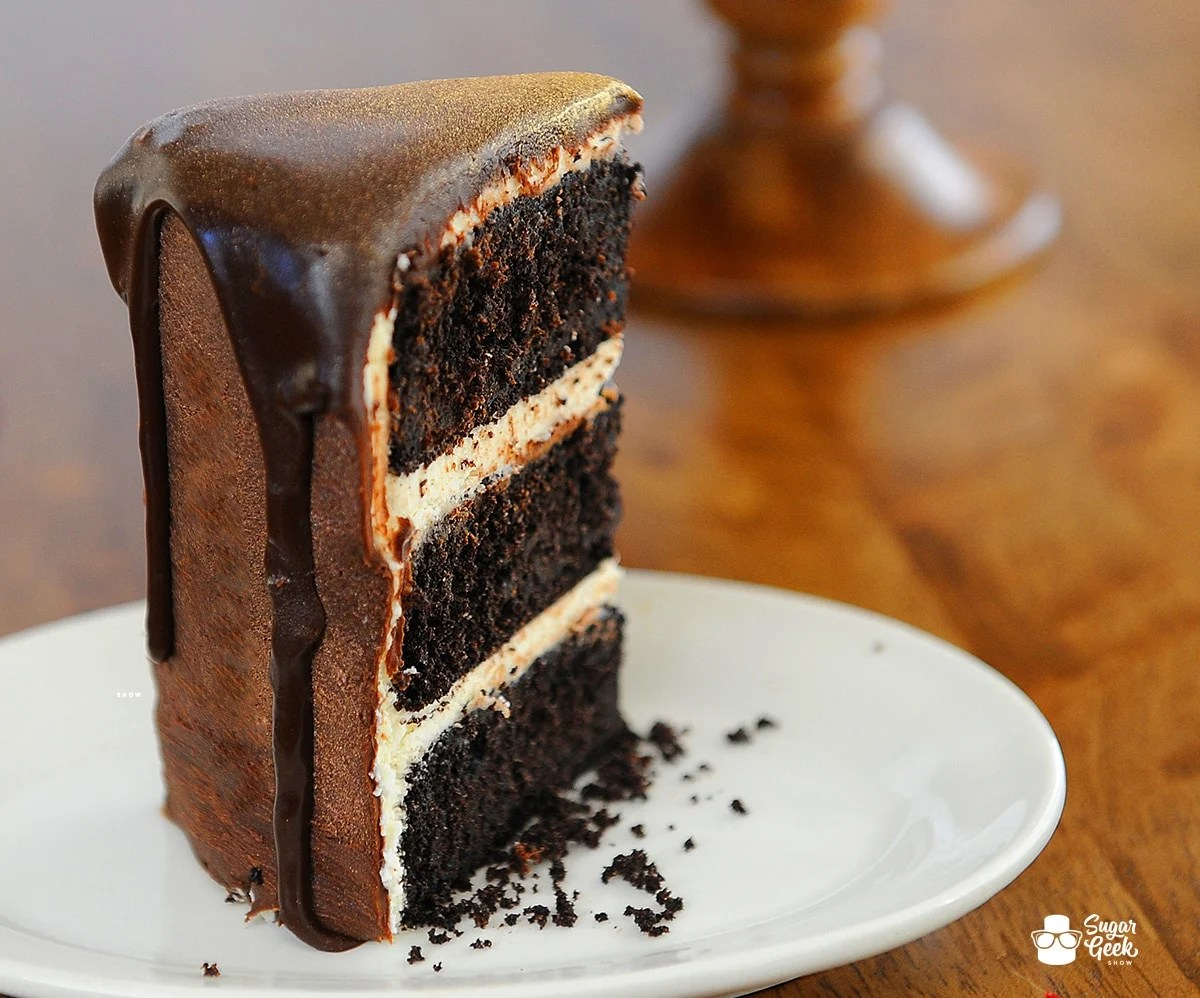Delicious Black Velvet Chocolate Cake Recipe
