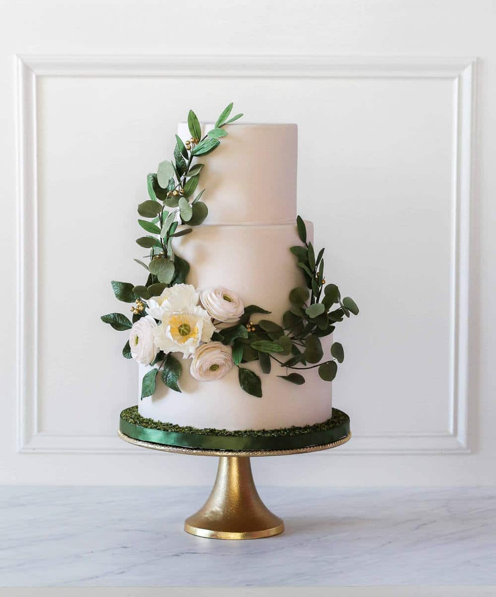 Wedding Cake Trends 2018 A Cake Collaboration  Sugar Geek Show