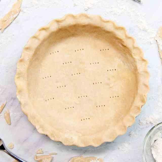 Mealy Pie Dough Recipe (Pate Brise)