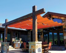 Slide Wire Cable Canopies - Sugarhouse Awning