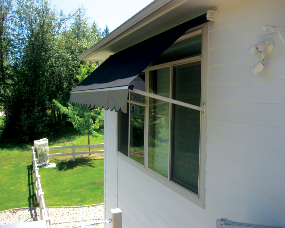 Retractable Window Awnings  SugarHouse Industries