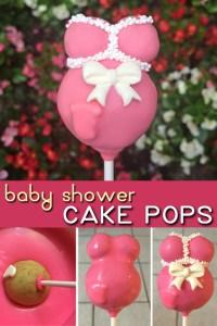 Baby Shower Cake Pops - sugarkissed