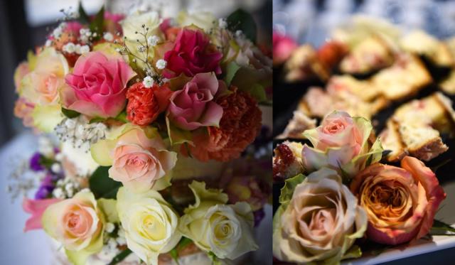 cake bouquet