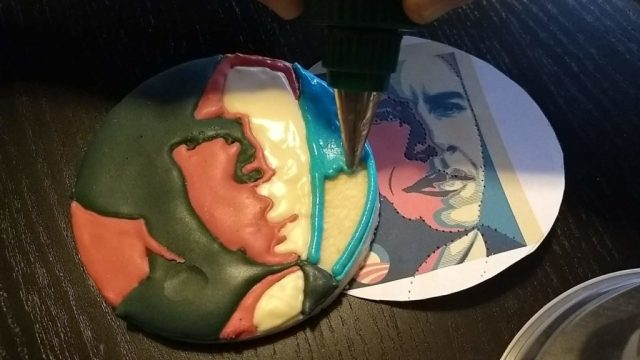obama cookie royal icing