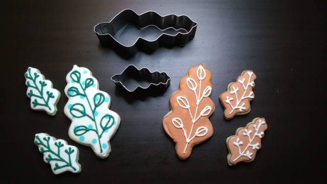 thanksgiving inspiration cookies