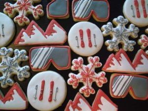 ski cookies