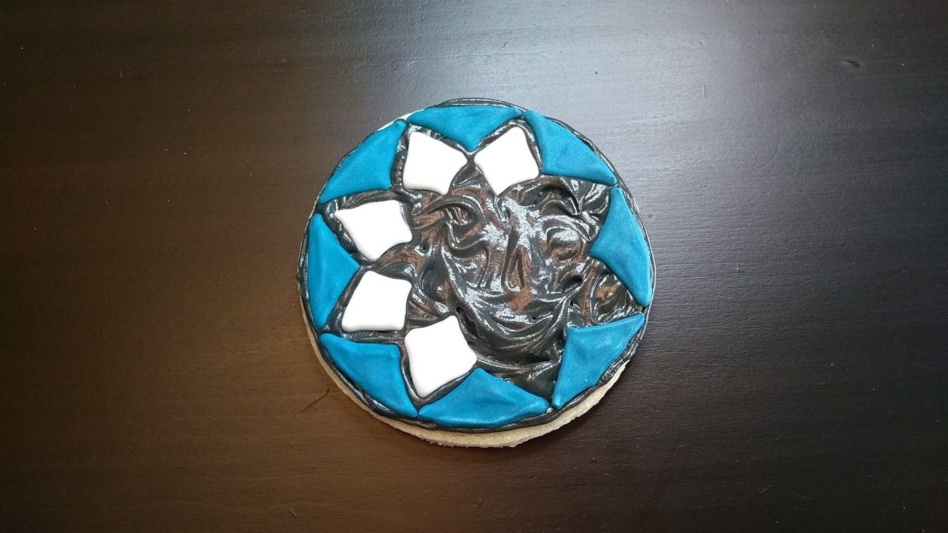 building mosaic cookie