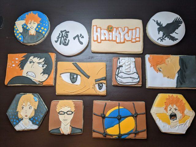 haikyu cookies