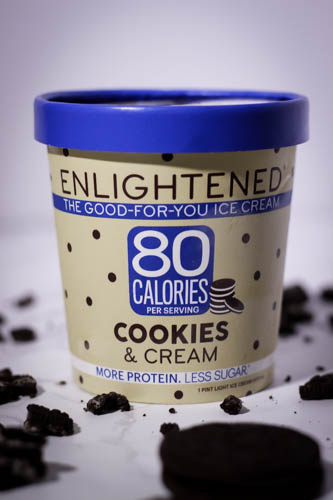enlightened ice cream cookies and cream