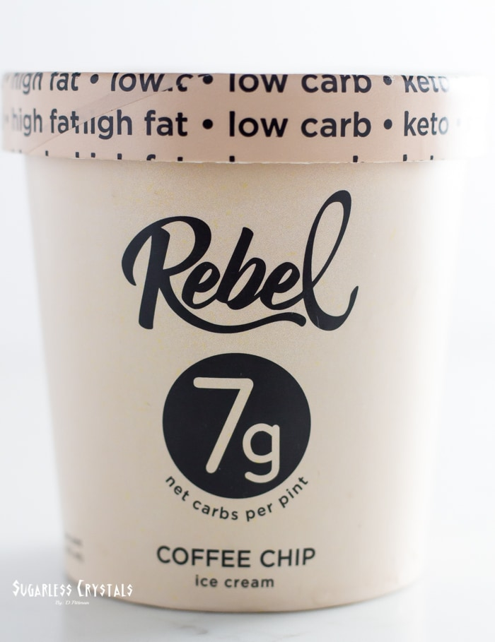 pint of rebel creamery coffee chip
