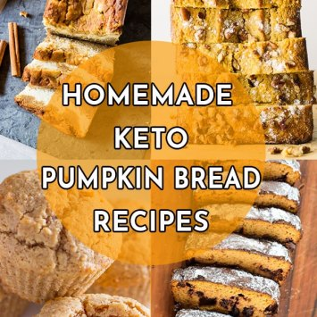 Homemade Keto Pumpkin Bread Recipes with Real Pumpkin