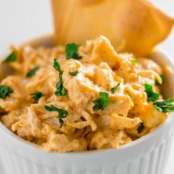 The Best Chicken Keto Buffalo Dip