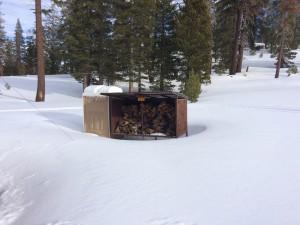 Firewood at the Yurt