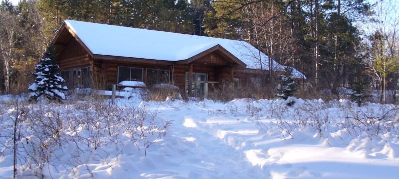 Sugarloaf Cove Nature Center in winter