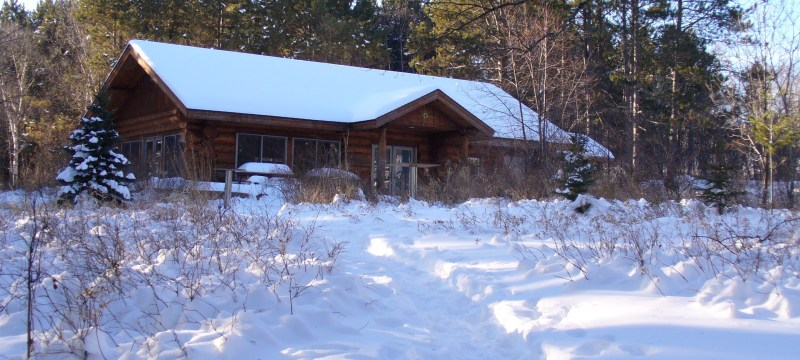 Sugarloaf Cove Nature Center in winter