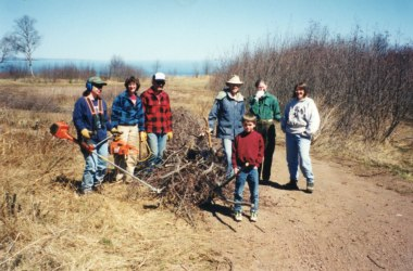 Early volunteers at sugarloaf: the north shore stewardship association