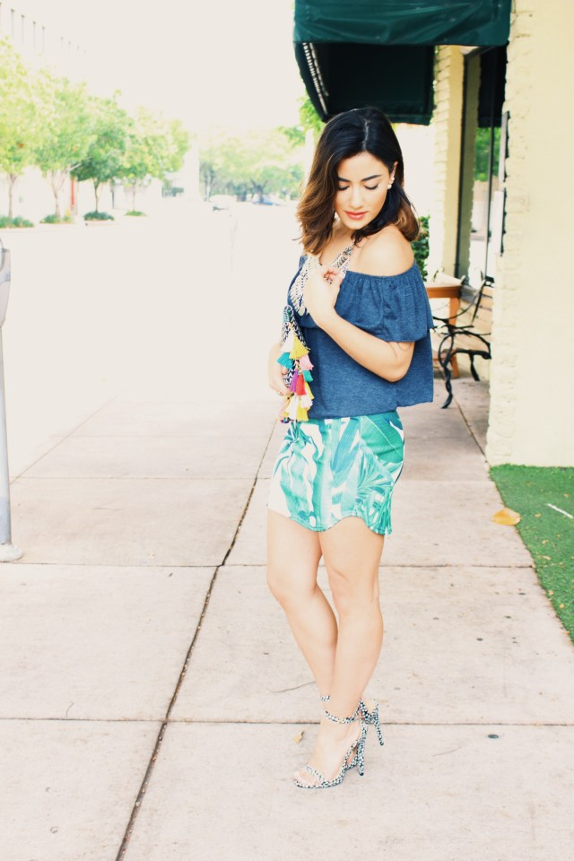Tropical Print Outfit