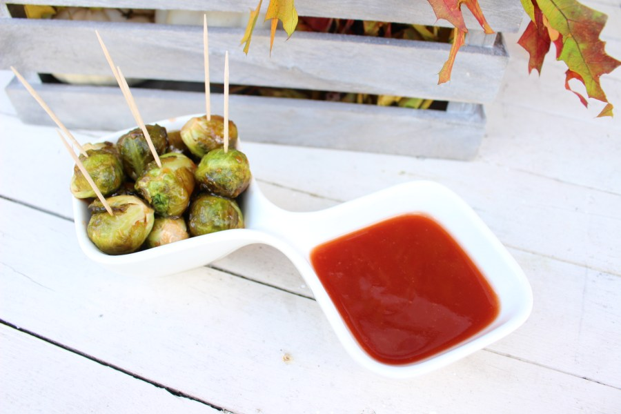Guava Glazed Brussel Sprouts 007