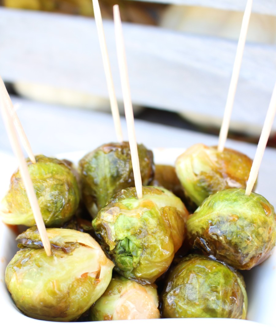 Guava Glazed Brussel Sprouts 011