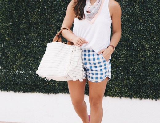 Madewell Gingham Shorts || Nordstrom