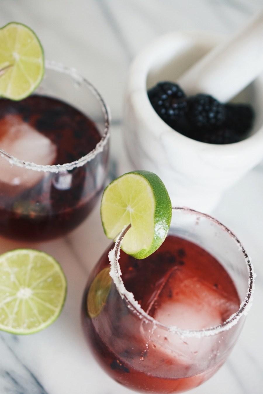 Blackberry Margarita for Fall