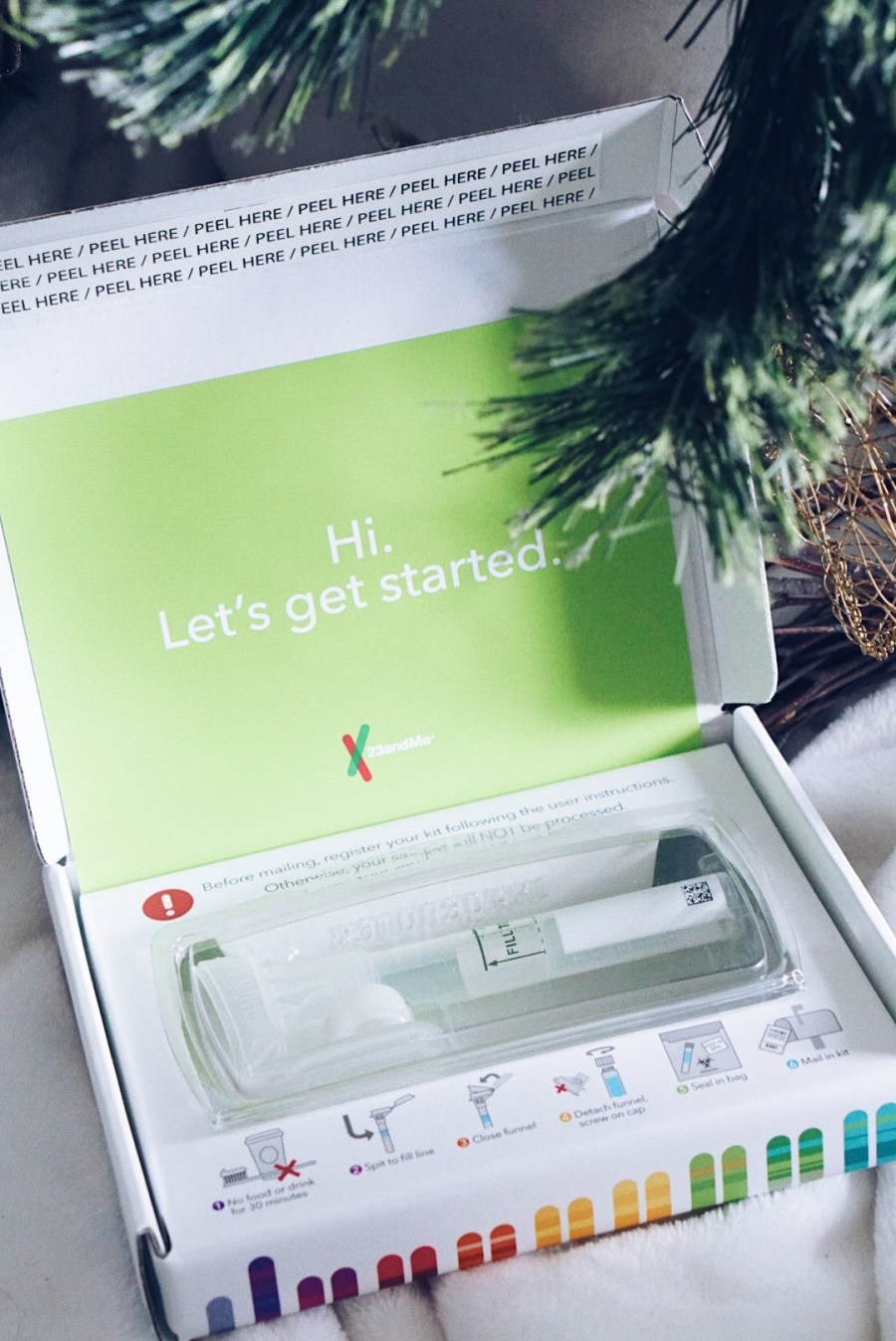 Thoughtful Gift Giving with 23andMe DNA Ancestry kit