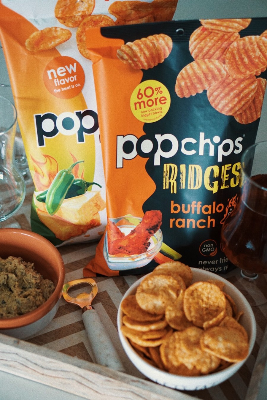 Game Time Snacks with Popchips