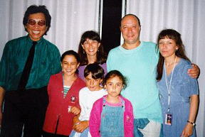 Rodriguez, Sugar and his family and Eva