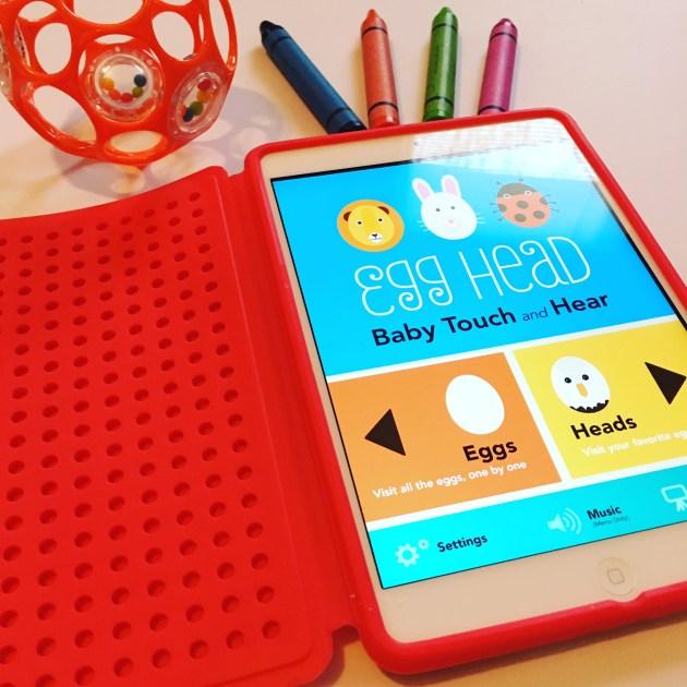 Favorite Toddler iPad Apps - Egg Head
