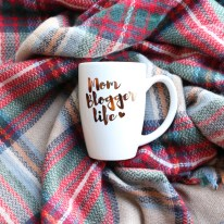 Mom Blogger Life Coffee Mug   Mom Blog Mug
