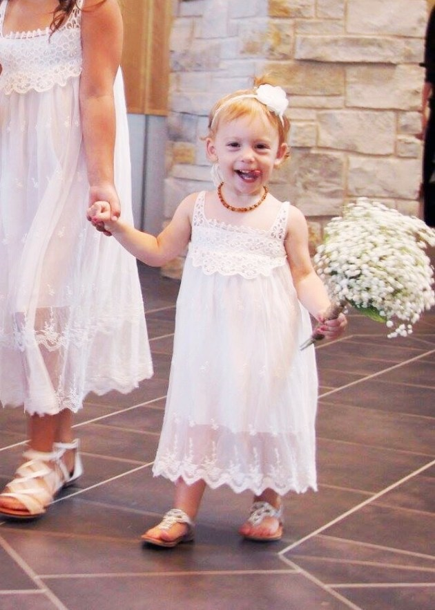 The Beauty of Marriage and a Rustic Barn Wedding - BohoFlower Girl Dress