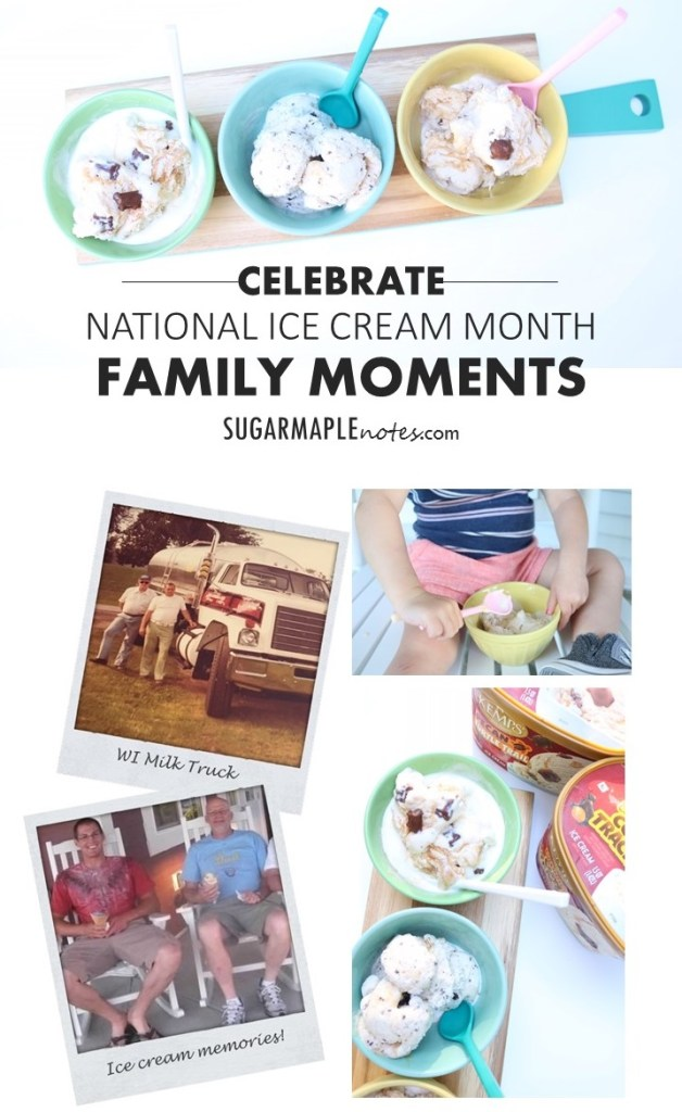 In Honor of National Ice Cream Month and Grandpa Denny - Celebrate Family Moments