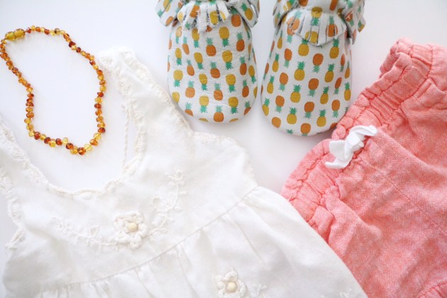 Fun FRIYAY Find - Freshly Picked Moccasins Aloha Toddler Outfit
